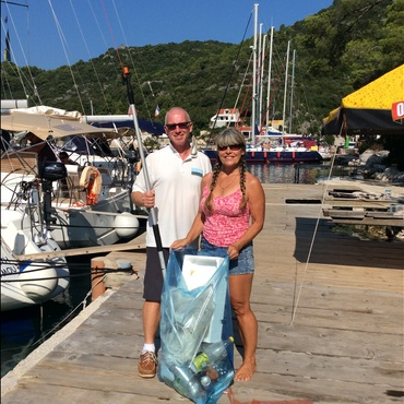 Wendy and Simon Seafarer Sailing Holidays -